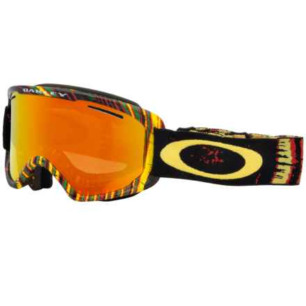 Oakley O2 XM Ski Goggles in Stumped Rasta/Fire Iridium - Closeouts