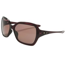 Oakley Overtime Sunglasses - Polarized (For Women) in Crystal Raspberry/Oo Grey - Closeouts
