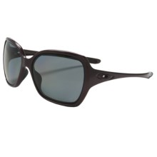 Oakley Overtime Sunglasses - Polarized (For Women) in Dark Plum/Grey - Closeouts