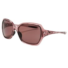 Oakley Overtime Sunglasses - Polarized (For Women) in Rose Quartz/Oo Grey - Closeouts