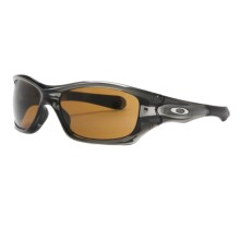 Oakley Pit Bull Sunglasses in Grey Smoke/Dark Bronze - Closeouts
