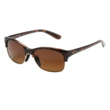 Oakley RSVP Sunglasses - Polarized (For Women) in Tortoise/Brown Gradient - Closeouts