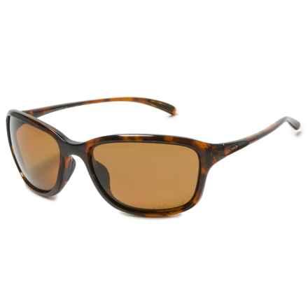 Oakley She's Unstoppable Sunglasses - Polarized (For Women) in Tortoise /Bronze - Closeouts