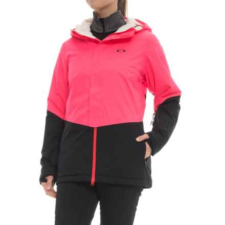 Oakley Showcase Biozone 2.0 Jacket - Waterproof, Insulated (For Women) in Neon Coral - Closeouts