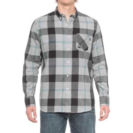 Oakley Shred Woven Shirt - Long Sleeve (For Men) in White - Closeouts