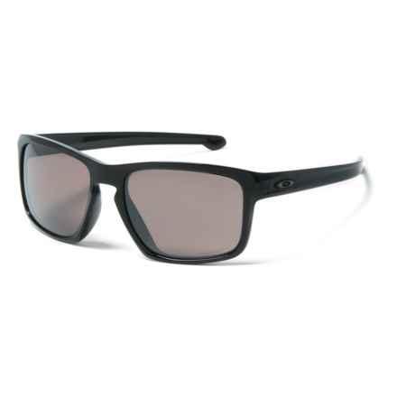 Oakley Silver Sunglasses - Prizm® Daily Polarized Lenses, Asia Fit in Black - Closeouts
