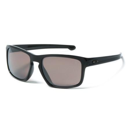Oakley Silver Sunglasses - Prizm® Daily Polarized Lenses, Asia Fit in Black