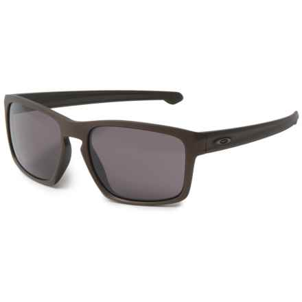 Oakley Sliver Fingerprint Sunglasses in Corten/Warm Grey - Closeouts