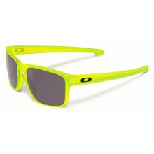 Oakley Sliver Sunglasses - Polarized Prizm Lenses in Uranium/Prizm Daily - Closeouts