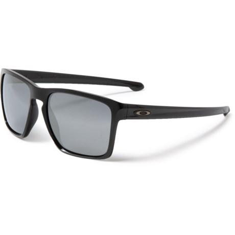 e0e9e58797 Oakley Sliver XL Sunglasses - Plutonite® Lenses (For Men) in Polished Black/