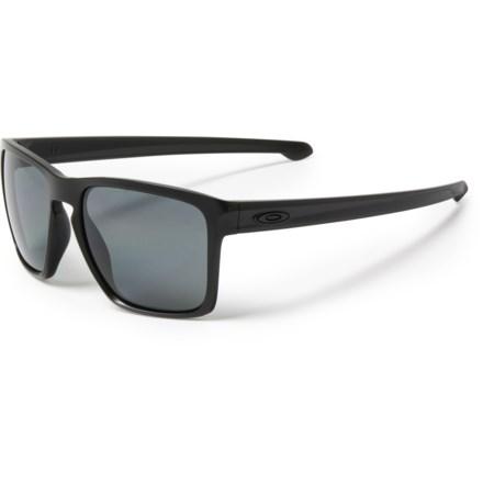3229e06fca417 Oakley Sliver XL Sunglasses - Polarized Plutonite® Lenses (For Men) in Matte  Black