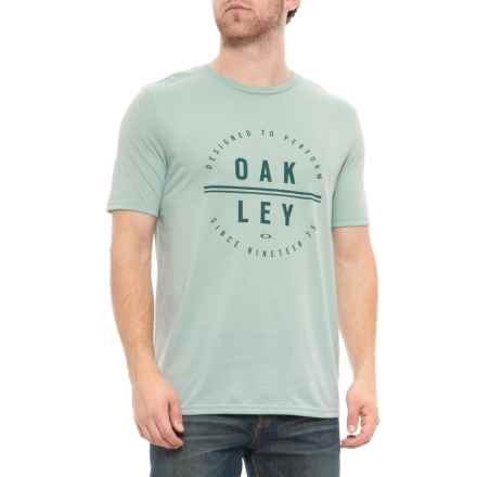 8b4bfb8dbd Oakley So-DTP Circle T-Shirt - Short Sleeve (For Men) in