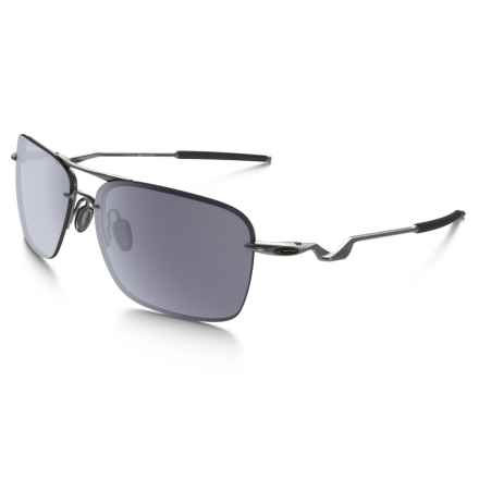 oakley sunglasses discount  oakley tailback sunglasses (for men and women) in lead/grey closeouts