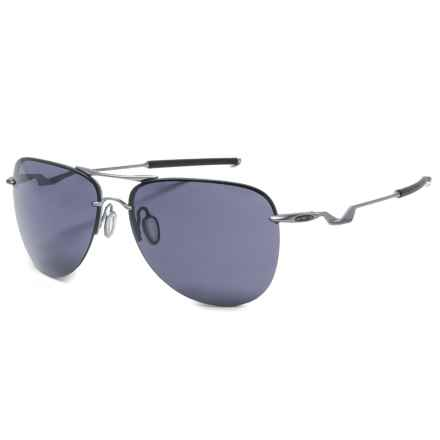 Oakley Tailpin Carbon Prizm® Daily Sunglasses -  Plutonite® Lenses in Lead/Grey - Overstock