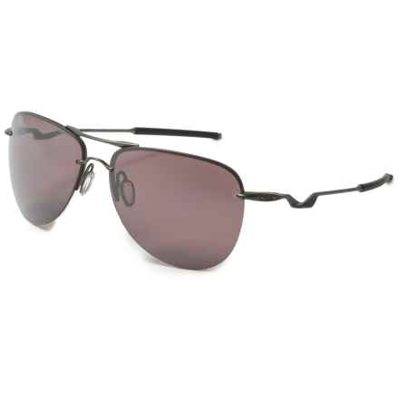 Oakley Tailpin Carbon Prizm® Daily Sunglasses - Polarized Plutonite® Lenses in Carbon - Overstock