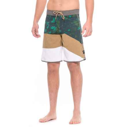 Oakley Trancas Boardshorts (For Men) in Antique Bronze - Closeouts