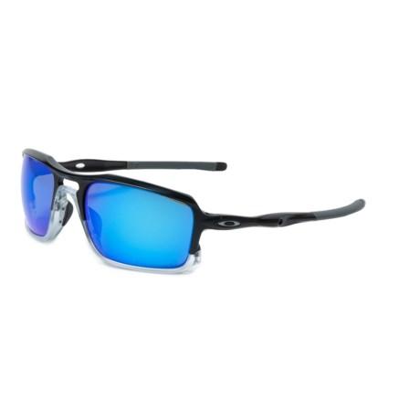 Oakley Triggerman Sunglasses - Iridium® Lenses in Matte Black/Sapphire Iridium