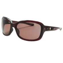 Oakley Urgency Sunglasses - Polarized (For Women) in Crystal Raspberry/Oo Grey - Closeouts