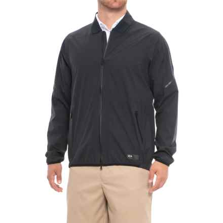 Oakley Velocity Storm Shell Jacket (For Men) in Blackout - Closeouts