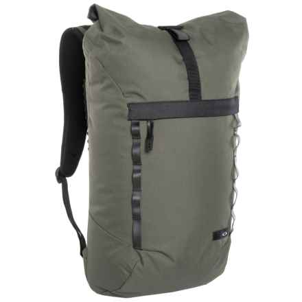Oakley Voyage 23 Roll-Top Backpack in Dark Brush - Closeouts