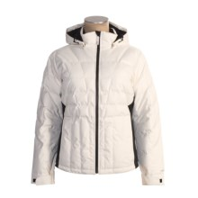 Obermeyer Addison Down Jacket - 500 Fill Power (For Women) in Marshmallow - Closeouts