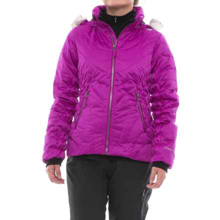 Obermeyer Aisha Ski Jacket - Waterproof, Insulated (For Big Girls) in Violet Vibe - Closeouts