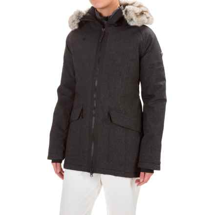 Obermeyer Alexa Parka - Waterproof, Insulated (For Women) in Dark Heather Grey - Closeouts