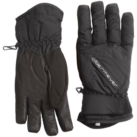 Obermeyer Alpine Ski Gloves - Waterproof, Insulated (For Men)