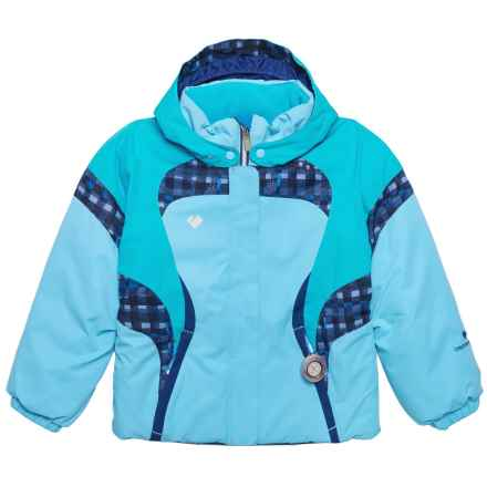 Obermeyer Alta Ski Jacket - Waterproof, Insulated (For Toddler, Little and Big Girls) in Blue Sky - Closeouts