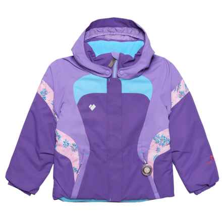 Obermeyer Alta Ski Jacket - Waterproof, Insulated (For Toddler, Little and Big Girls) in Grapesicle - Closeouts