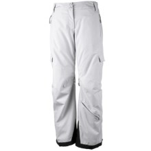 Obermeyer Andorra Pants - Insulated (For Women) in White - Closeouts