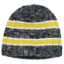 Obermeyer Andy Knit Beanie Hat (For Boys) in Acid Yellow - Closeouts