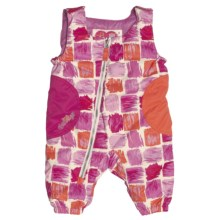 Obermeyer Arielle Bib Pants - Insulated (For Little Girls) in Paintbrush Print - Closeouts