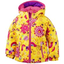 Obermeyer Arielle Snow Jacket - Waterproof, Insulated (For Toddlers and Little Girls) in Folklore Print - Closeouts