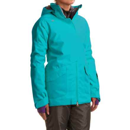 Obermeyer Aura Ski Jacket - Waterproof, Insulated (For Women) in Mermaid - Closeouts