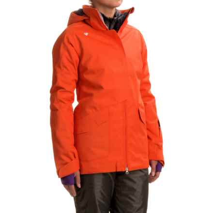 Obermeyer Aura Ski Jacket - Waterproof, Insulated (For Women) in Tiger Eye - Closeouts