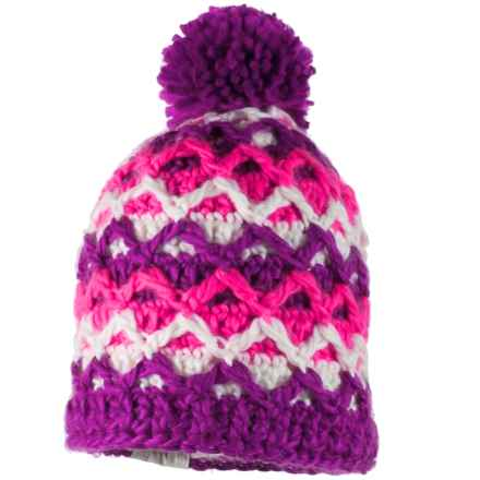 Obermeyer Averee Knit Hat (For Big Girls) in Violet Vibe - Closeouts