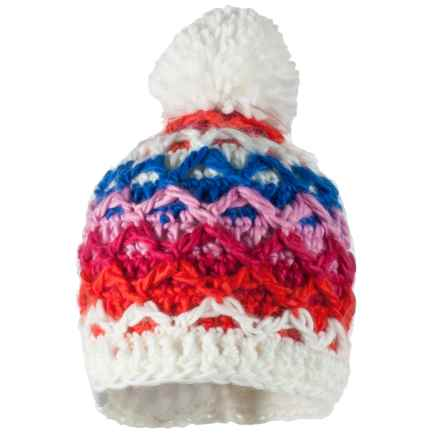 Obermeyer Averee Knit Hat (For Little Girls) in Glamour Pink - Closeouts