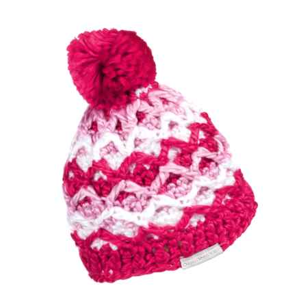 Obermeyer Averee Knit Hat (For Little Girls) in Sugar Berry - Closeouts