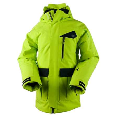 Obermeyer Axel Ski Jacket - Insulated (For Big Boys) in Screamin Green - Closeouts