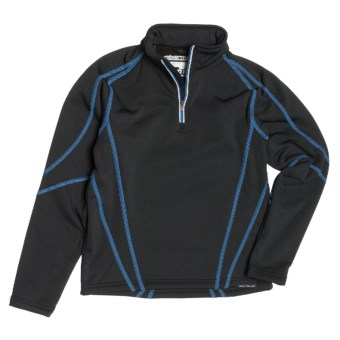 Obermeyer Badger Pullover - Zip Neck (For Boys) in Jester