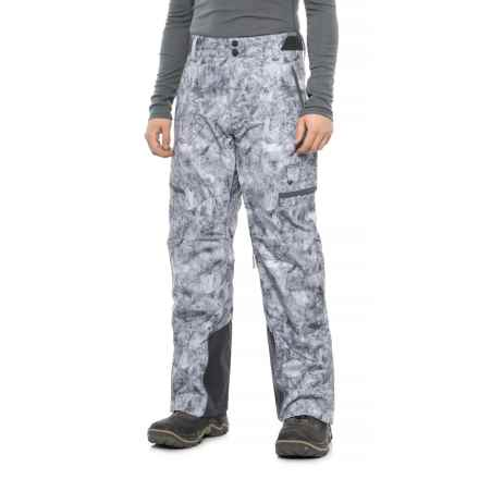 Obermeyer Ballistic Ski Pants- Waterproof, Insulated (For Men) in Marble - Closeouts