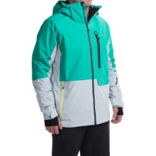 Obermeyer Barley Ski Jacket - Waterproof, Insulated (For Men) in Jade - Closeouts