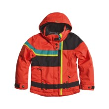 Obermeyer Bella Jacket - Insulated (For Girls) in Poppy - Closeouts