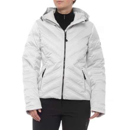 5660569ad0a Obermeyer Belle Down Jacket - Waterproof (For Women) in Ceramic - Closeouts