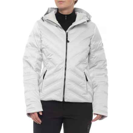 Obermeyer Belle Down Jacket - Waterproof (For Women) in Ceramic - Closeouts