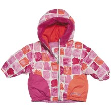 Obermeyer Belle Jacket - Insulated (For Infant Girls) in Paintbrush Print - Closeouts