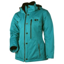 Obermeyer Bianca Jacket - Insulated (For Women) in Cote Dazur - Closeouts