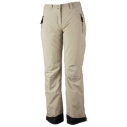 Obermeyer Birmingham Ski Pants - Insulated (For Women) in Champagne