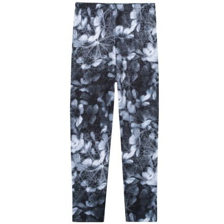 746782cf4b9a9 Obermeyer Blackout Floral Bearclaw 75 Weight Sport Tights - UPF 50+ (For  Girls)